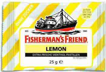 Fisherman´s Friend Lemon 25gr.