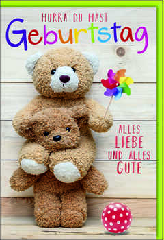 Bill. Geb. Kinder Teddy